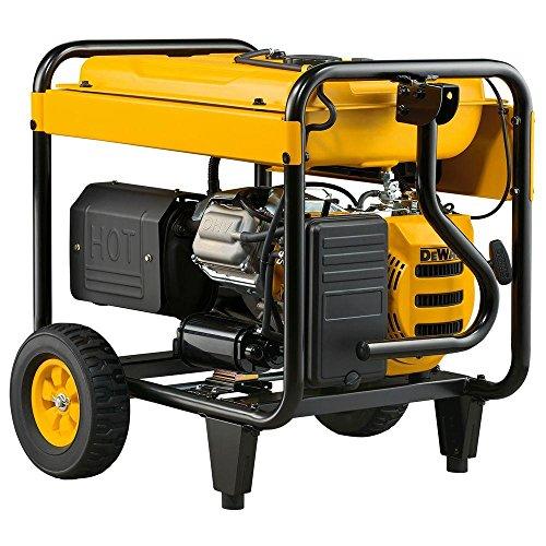 DEWALT PM0167000.02 DXGNR7000 7,000-Watt Portable Generator 50-ST/CARB, Red