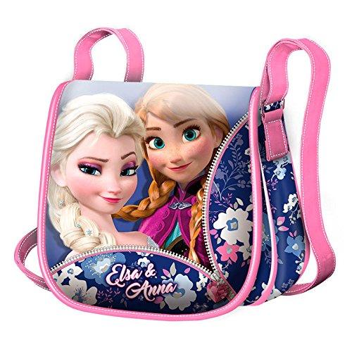 Frozen Zipper Messenger Bag, 16 cm, Pink (Rosa)