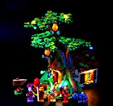 EDCAA LED Lighting Kit For Ideas Winnie The Pooh Exclusive Set Compatible with Lego 21326 (Not Include Model)