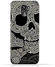 infinix Hot 4 Pro X556 TPU Silicone Protective Case with Skull & Piesley Design