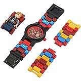 LEGO 8021261) 腕時計 ボーイズ クォーツ プラスチック カジュアルウォッチ レッド