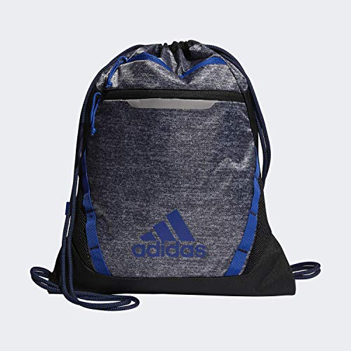 adidas Rumble Iii - Mochila unisex, Unisex, Bolsa, 977631, Onix Jersey/ Negro/ Collegiate Royal, Talla única