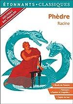 Phèdre - PROGRAMME NOUVEAU BAC 2021 1ère- Parcours Passion et tragédie d'Anne Princen