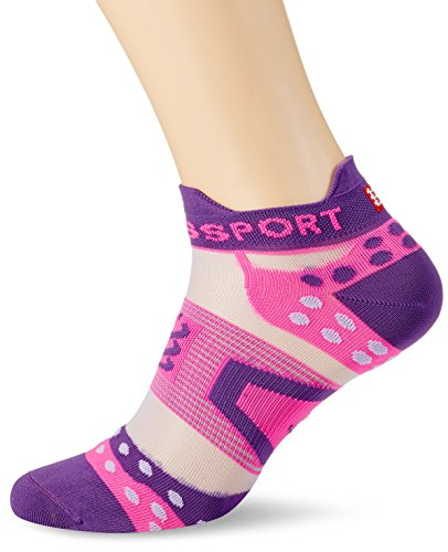 Compressport PRS Ultralight Run Low V2.1 Calcetines, Todo el año, Unisex, Color Morado, tamaño T3