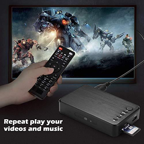 『多功能便携式媒体播放器 HDMI / VGA 输出 OTG USB / / SD / AV / 电视 / Avi 格式 / RMVB 全高清支持1080P 高清画质播放多种输出』の2枚目の画像