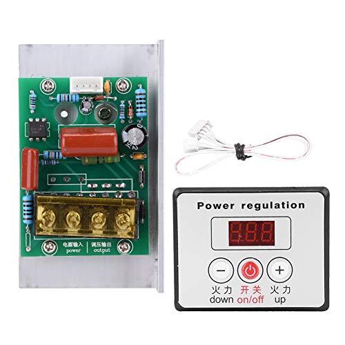 AC 220V 6000W SCR Ajustable Regulador de Voltaje Digital Motor Eléctrico Control...