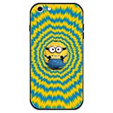 Minion_s iPhone 6 Case with 4 Corners Shockproof Protection,Cute Cartoon Design Soft TPU Bumper and Hard PC Back Cover Cases for Apple 6 for Kids Boys Men Women