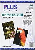 Plus Office InkJet Paper Photo Quality - Papel fotográfico A4, 1440 dpi, paquete 100 hojas de 100 gr.