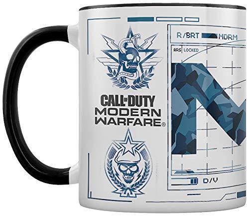 Call of Duty: Modern Warfare - Mug en céramique 11oz / 315ml (Icons)