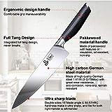 Zoom IMG-1 ddf iohef coltello da chef