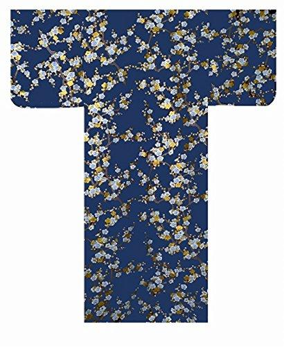 Autenticos Yukata Samurai / Frescos y Atractivos Kimono- Ciruela Blanca #960