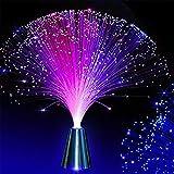 ca azul hielo l/ámpara de noche en la fibra /óptica Tobar 33 cm