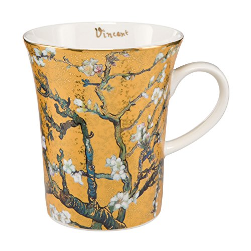 Goebel 67011061 Künstlerbecher Vincent Van Gogh Mandelbaum Gold