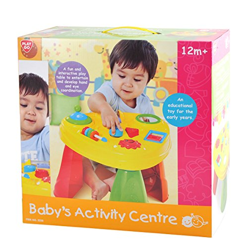 Partner Jouet - HKT2238 - Jeu éducatif premier âge - Activité d'éveil - Table d'activité