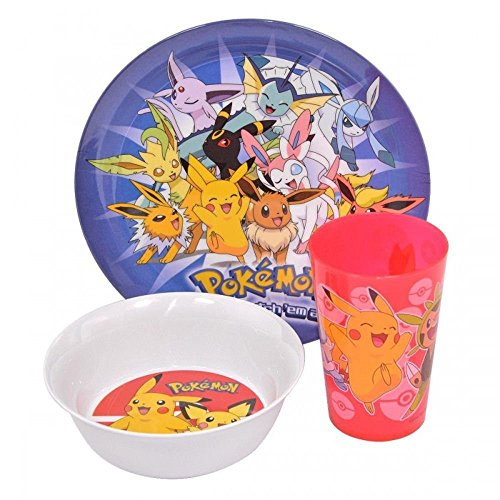 Pokemon 3PC Dinnerware Set