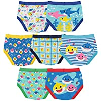 7-Pack Baby Shark Boys' Toddler Underwear Multipacks