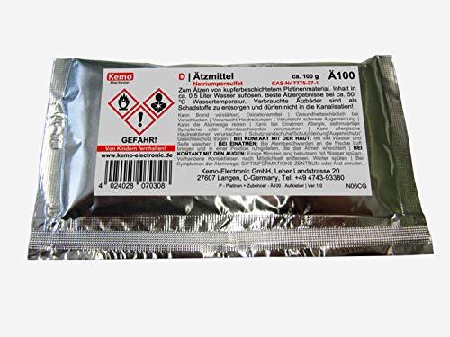 Ätzmittel, weiss, ca. 100g (Natriumpersulfat) zum Ätzen