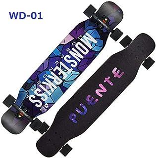 42インチ スケートボード テールキック メープルデッキ