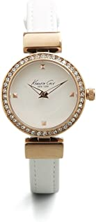 Kenneth Cole New York Women's 10022302 Classic Analog Display Japanese Quartz White Watch