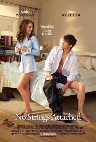 """No Strings Attached Movie Poster #01 24""""x36"""""""
