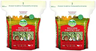 Oxbow Animal Health Western Timothy Hay for Pets, 15-Ounce (2 pack of 15)