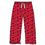Official Arsenal FC Premier League Soccer Adults Lounge Pants (100% Cotton Pyjama Bottoms) (X-Large)