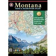 Montana Road & Recreation Atlas (Benchmark Recreation Atlases)