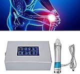 ZLSN Máquina de Masaje Muscular de Tejido Profundo, ED Máquina de Terapia de Ondas de Choque extracorpórea electromagnética con 6 Cabezales para el Alivio del Dolor crónico