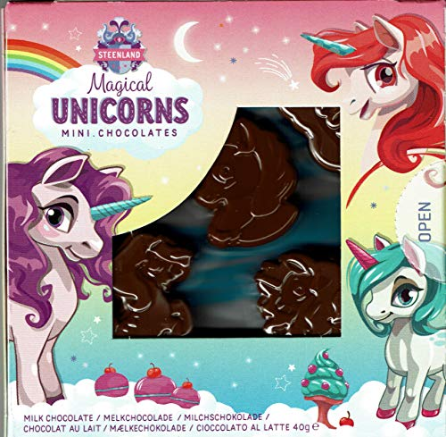 5 Figuren Einhorn Unicorn Schokolade Geburstag Kinder