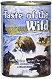 Taste Of The Wild Alimentacion Humeda con Salmon pack de 12 x390 gr Pacific Stream