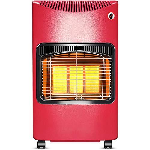 zZZ Zambista Calentadores for Exteriores Calentadores de Gas licuado de Aparatos de calefacción domésticos extraíbles Calentadores portátiles