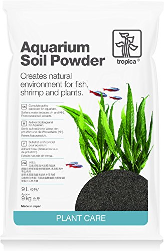 Aquarium Soil Powder, 9 Liter