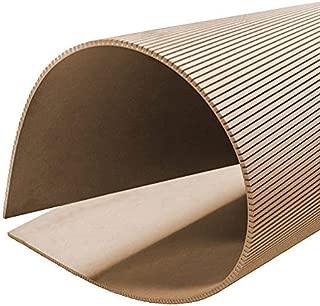 Builder Merchant CNKLJ0010 Long Grain Flexible MDF Board, Wood, 6 x 1220 x 610 mm
