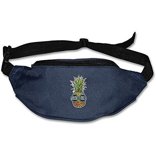 Beyond Loser Hüfttasche Gürteltasche Ananas-Sonnenbrille Good Vibes Gürteltasche Verstellbarer Laufgurt Reisetasche LeichtgewichtFanny Pack Für Unisex