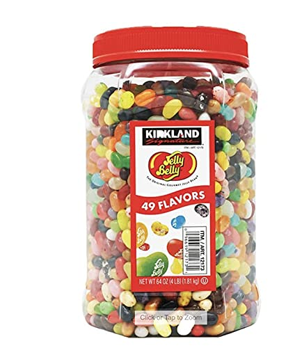 Kirkland Signature Jelly Belly (The Original Gourmet Jelly Bean) 4 Pound Variety Pack by VITACRUSH