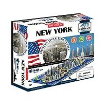 4Dシティスケープ ニューヨーク タイムパズル 840ピース 40010 正...