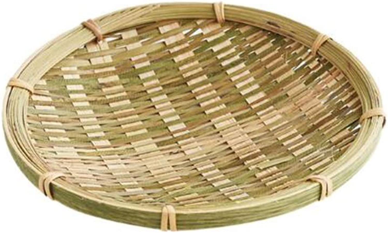 MUMA Storage Basket Handicraft Woven Vegetables Toy Fruit Organizer Multiple Sizes Optional (color   T1, Size   30x3cm)