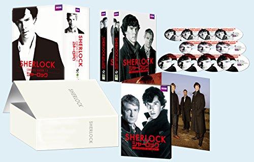 SHERLOCK/シャーロック シーズン1-3 コンプリート Blu-ray-BOX