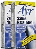 Ayr Saline Nasal Mist, 2 pk