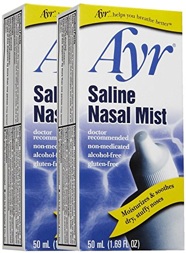 professional Air saline nasal spray, 2 packs