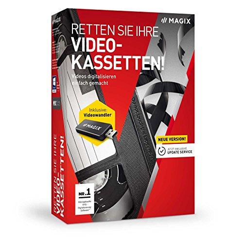Preisvergleich Produktbild MAGIX Retten Sie Ihre Videokassetten! Version 9 Videokassetten digitalisieren einfach gemacht