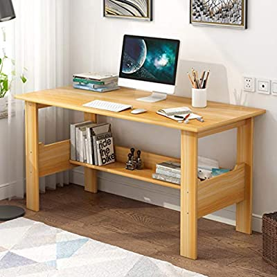 Modern Small Computer Desk,Thicken Wooden Deskt...