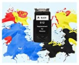 ZITENG CGBH Compatible PG512 CL513 for Canon pg 512 del Cartucho 513 de Tinta cl for Pixma MP230 MP250 MP240 MP270 MP480 MX350 iP2700 Impresora pg-512 (Color : 1pcs 512XL BK)