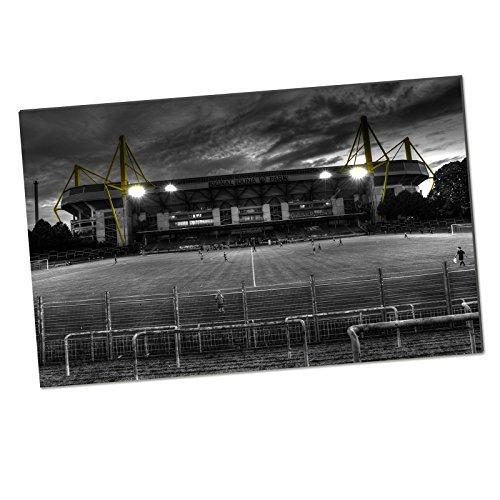 Borussia Dortmund BVB-Kunstdruck Rote Erde 80 x 50 cm one Size