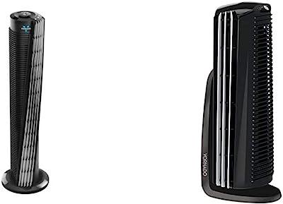 "Vornado 184 Whole Room Air Circulator Tower Fan, 41"", 184-41"", Black & Duo Small Room Tower Air Circulator Fan"