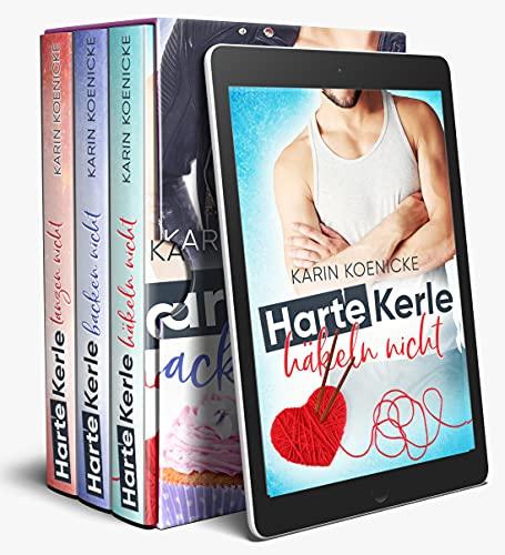 Harte Kerle 1-3 Sammelband Liebeskomödien zum Wohlfühlen: (Liebe im Café Woll-Lust 1-3)