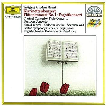 Mozart: Clarinet Concerto; Flute Concerto; Bassoon Concerto in B