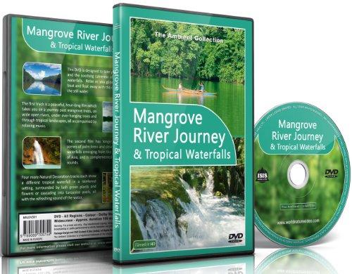 Rilassante Dvd - Mangrovia Viaggio Fluviale E Cascate Tropicali Con Suoni Della Natura