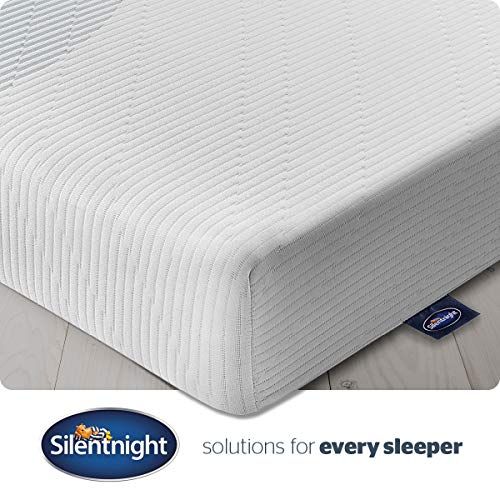Silentnight 3 Zone Memory Foam Rolled Mattress | Made in the UK |Medium |Double