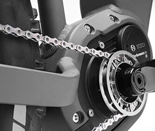 KMC X 11 E Fahrradkette, Silber, 1/2″ x 11/128″ - 5